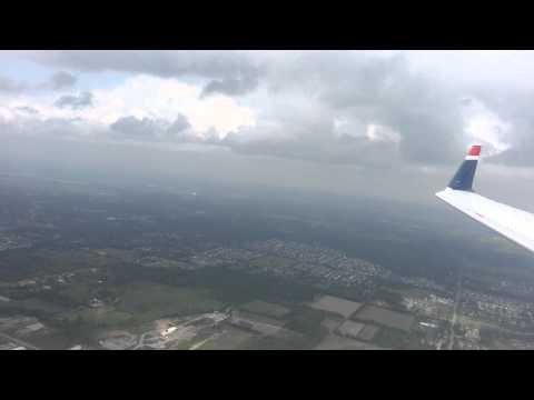 Washington Regional Airport - Buffalo Niagara Airport onboard US Airways Express CRJ200