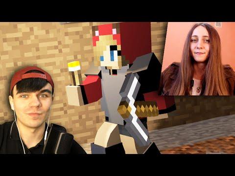 ДЕРЗКАЯ ДЕВУШКА ВАЛИТ ВСЕХ - Minecraft с Девушкой #4 - Видео из Майнкрафт (Minecraft)