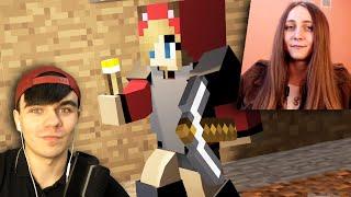 - ДЕРЗКАЯ ДЕВУШКА ВАЛИТ ВСЕХ Minecraft с Девушкой 4