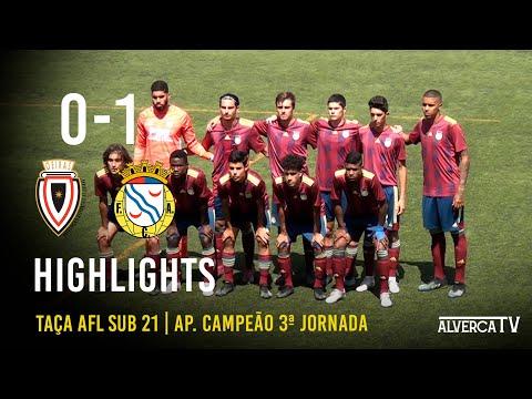 AD Oeiras 0-1 FC Alverca   Highlights