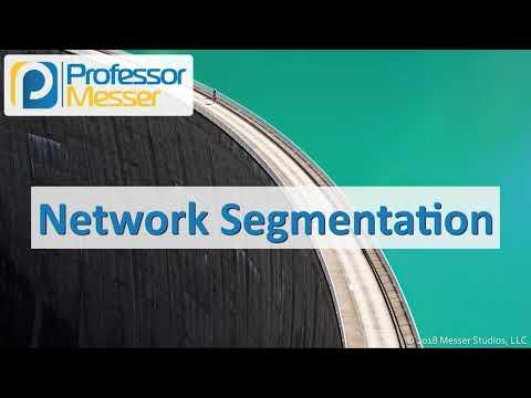 Network Segmentation - CompTIA Network+ N10-007 - 1.3