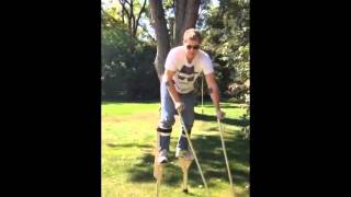 4 legged stilt costume- soul walker- Video 1 - Kevin Miller BEST COSTUME