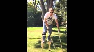 4 legged stilt costume- soul walker- Video 1 - Kevin Miller BEST COSTUME