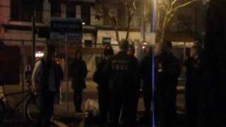 Vancouver Tent City woman arrested by Psych-Police in DTES on 19 March 2010.mov
