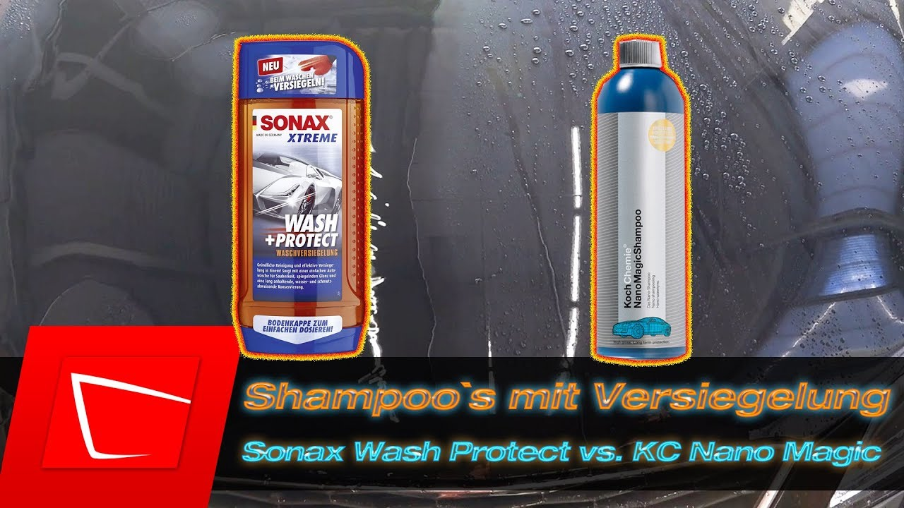 sonax wash protect vs koch chemie nano magic shampoo. Black Bedroom Furniture Sets. Home Design Ideas
