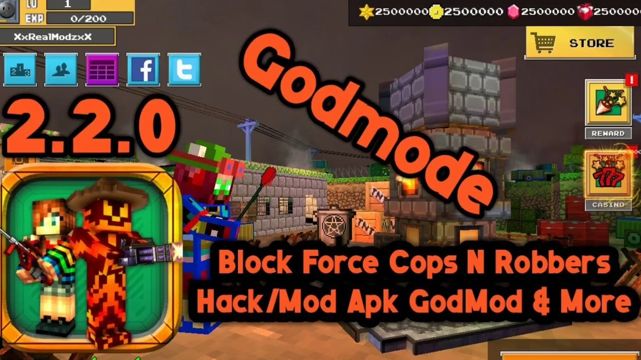 Block Force lucky patcher hack!!!!!