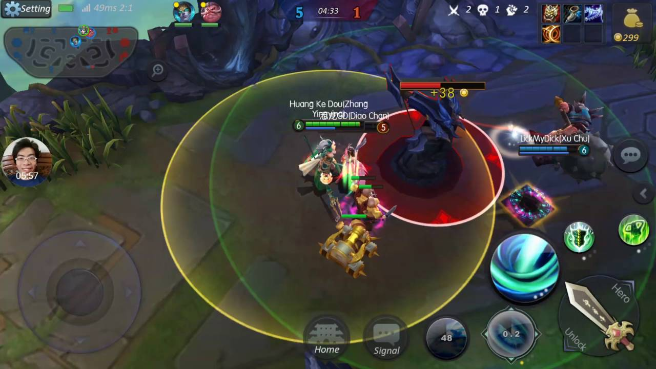 Legendary-5v5 MOBA game | Snake Dancer - Zhang Yingying Gameplay  (Android/IOS)