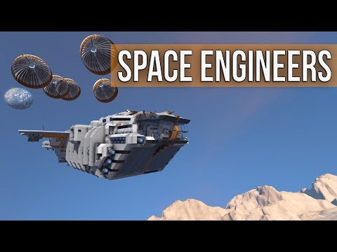Space Engineers - Landing On Haven (PvE Planet Multiplayer Coop)