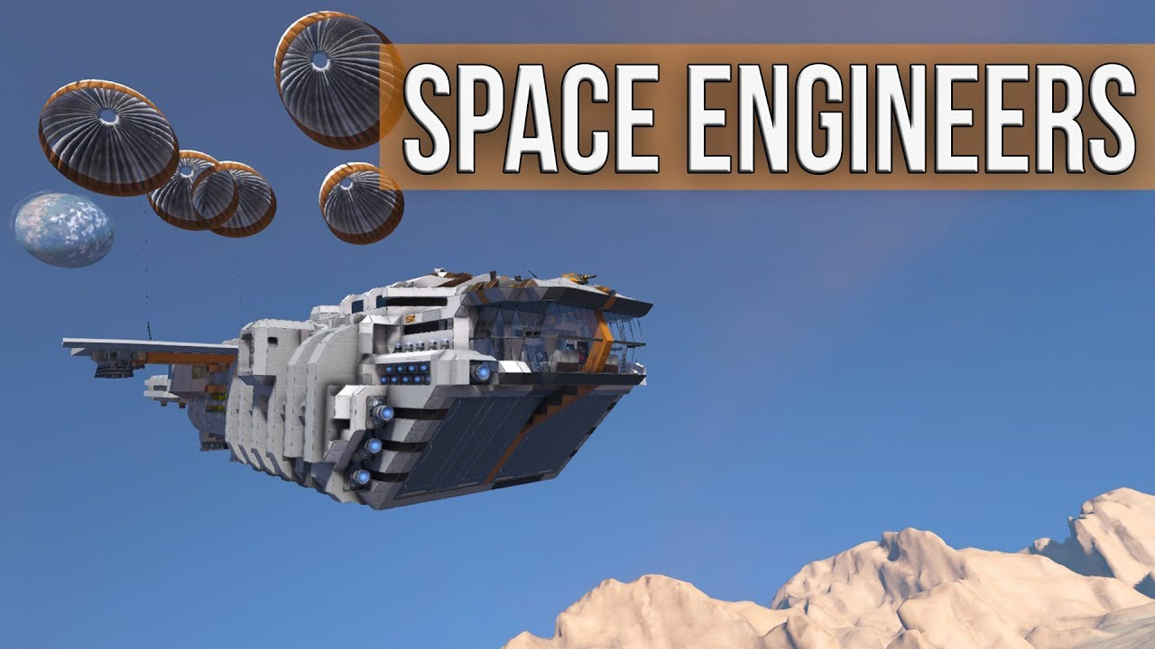 Space Engineers - Landing On Haven (PvE Planet Multiplayer Coop)