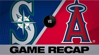 Angels honor Tyler Skaggs with combined no-hitter Mariners-Angels Game Highlights 71219
