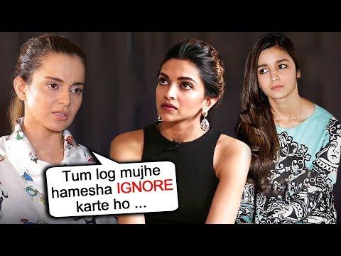 Kangana Ranaut SLAMS Deepika Padukone Alia Bhatt For Always IGNORING Her Mp3
