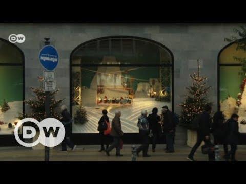 Christmas display windows in Europe