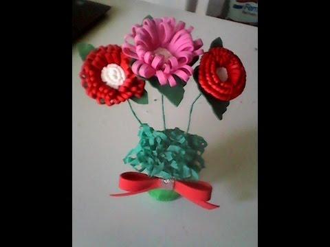 Rosas Em Eva Para Dia Das Mães Ou Decoração Youtube