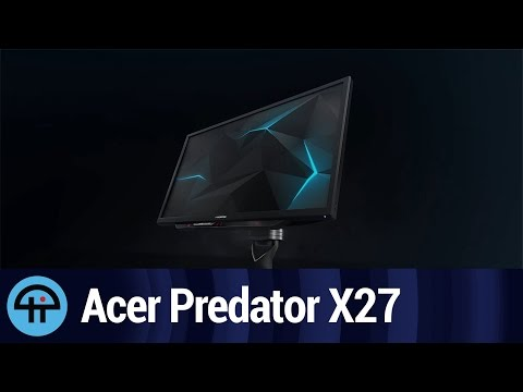 Acer Predator X27 with 4K at 144Hz