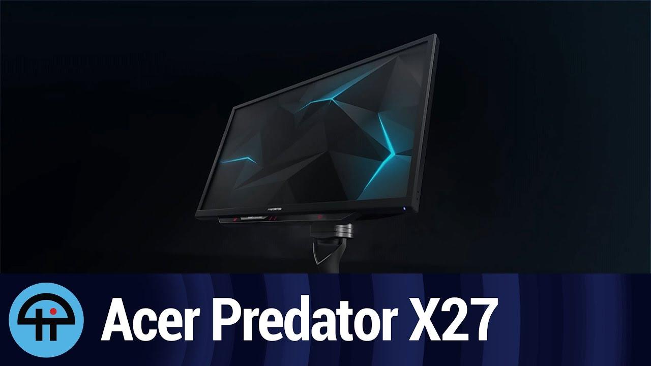 Acer Predator X27 With 4K At 144Hz