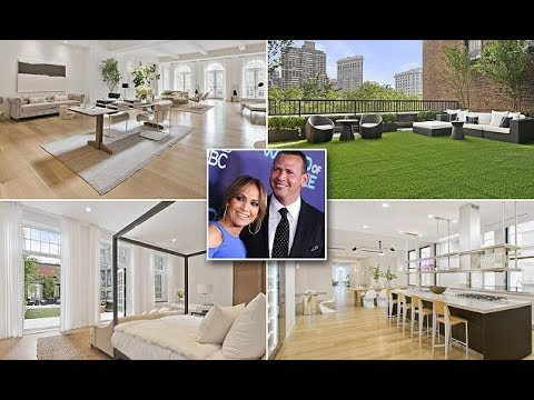 Moving in with A-Rod? Jennifer Lopez puts her luxurious Manhattan penthouse on the market for $27 m