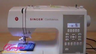 SINGER Confidence 7470 видео обзор(SINGER Confidence 7470 старшая модель серии SINGER Confidence. Это компьютеризированная швейная машинка с большим набором..., 2016-03-17T21:08:32.000Z)