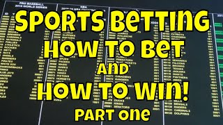 how to bet on sports and win