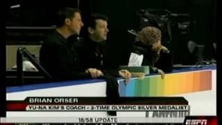 2006 2007 11 yu na kim 2006 skate canada ladies fs orser talks about kim