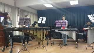 Final Exam Percussion Method - Runaway Baby by Bruno Mars