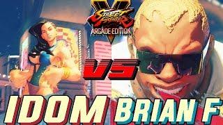 SFV AE 💥 iDom (Laura) VS Brian.F (Balrog) Street Fighter V Arcade Edition Season 4