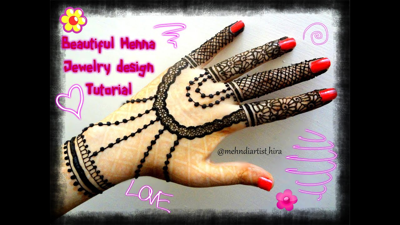 Easy simple henna jewellery inspired mehndi designs for hands ...