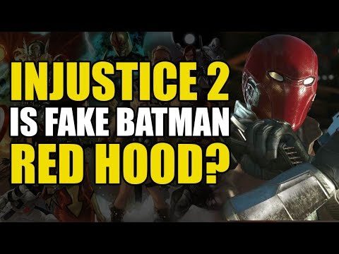 Is The Fake Batman Red Hood!? (Injustice 2 Vol 2: Daughter of Harley Quinn)