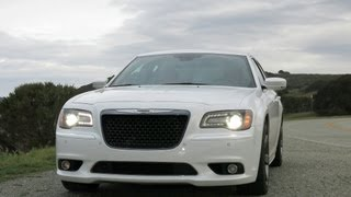 2013 and 2014 Chrysler 300 SRT8 Review and Road Test with Infotainment Review