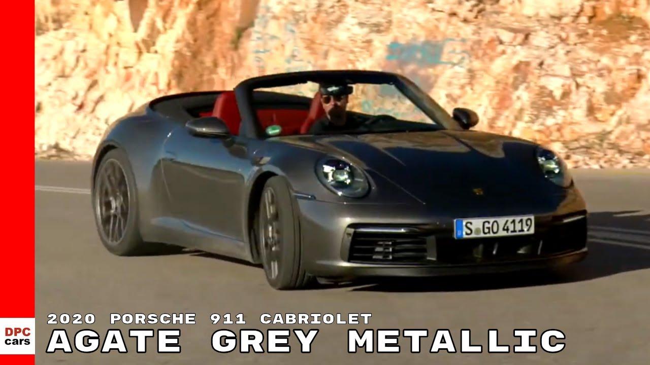 2020 Porsche 911 992 Carrera 4S Cabriolet , Agate Grey Metallic