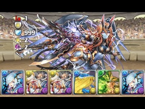 [Puzzle and Dragons] April Quest Dungeon - Lv10 (Kiri)
