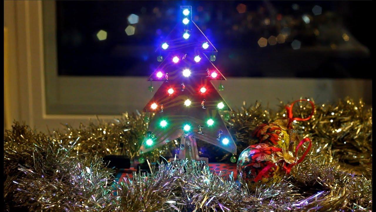 rbol de Navidad Shield para Arduino con led RGB WS2812 Xmas Tree