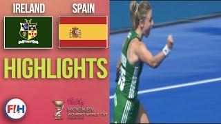 Ireland v Spain   2018 Women's World Cup   HIGHLIGHTS