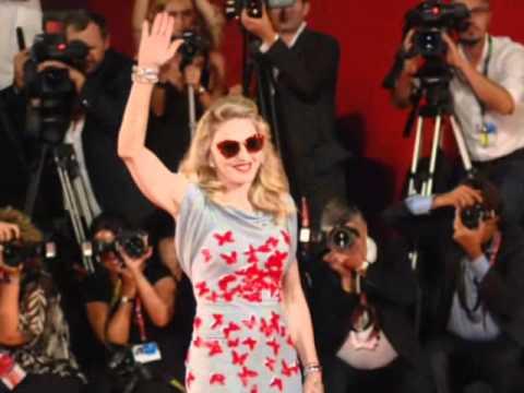 Madonna super star alla 68^ Mostra del Cinema di Venezia