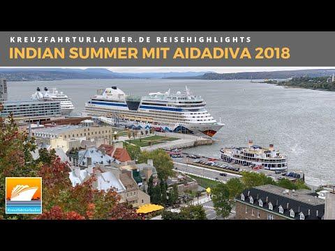 Mit AIDAdiva Von New York Nach Montreal In Den Indian Summer - Highlights Der Reise