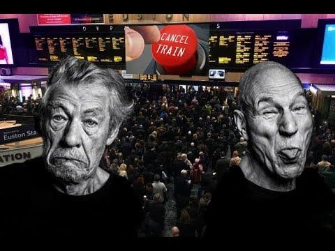 Gandalf & Jean-Luc Picard, Cause train Mayhem!