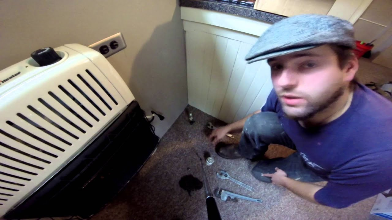Installing A Vent-less Heater  1