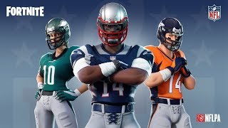 EPIC GAMES ANNOUNCES NEW NFL SKINS COMING TO THE ITEMS STORE! FORTNITE REAL ITA BATTLE