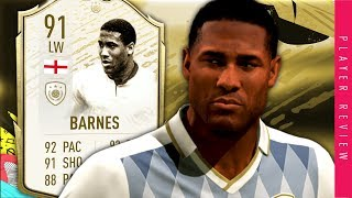 Icon Moments Barnes Review - 91 Prime Icon Moments Barnes Review Fifa 20 Ultimate Team