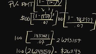 How to Calculate the Present Value of an Annuity | Episode 43