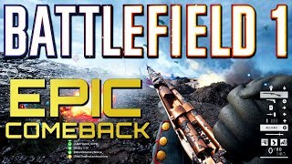 Battlefield 1 77 4 Epic Comeback PS4 PRO Multiplayer Gameplay