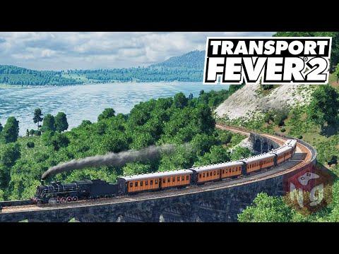 🔴Transport Fever 2 - Начало транспортной империи!