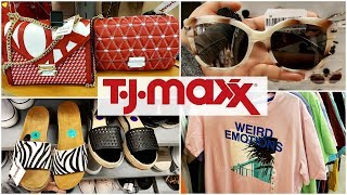 TJ MAXX SHOPPING ON A BUDGET NAME BRANDS WALK THROUGH MAY 2019