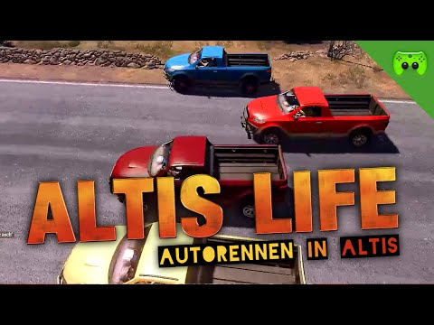 AUTORENNEN IN ALTIS 🎮 Arma 3: Altis Life S2 #2