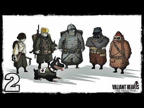 Смотреть прохождение игры [PS4] Valiant Hearts: The Great War. #2: В окопах врага.