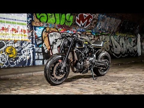 Rough Crafts Release Of Yamahas 2 In 1 Degree XSR700 Cafe Racer Mix And Scrambler