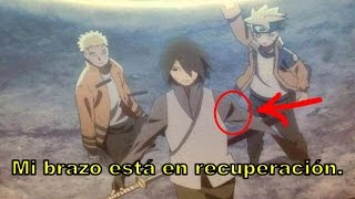 Why does not Sasuke have his left arm?