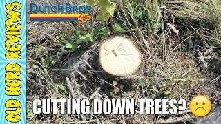 Cutting Down Lovely Trees For Dutch Bros, Orchards, WA? 🌲☕😢