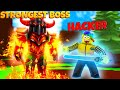 He REPORTED me for HACKING because my MAX SWORD was too STRONG..  (Roblox Power Simulator)