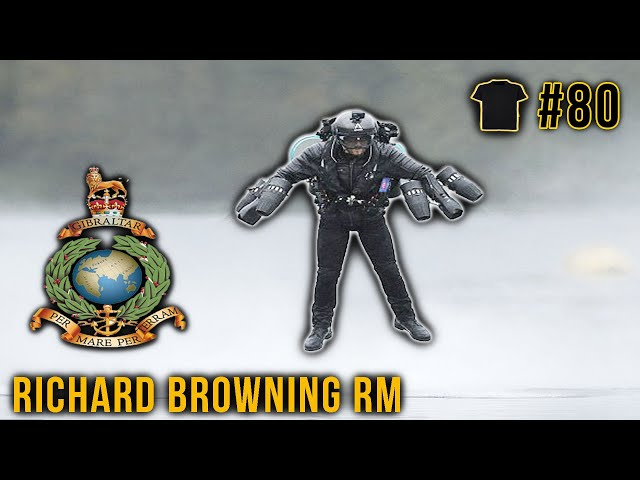 The REAL LIFE Iron Man | Richard Browning |  Royal Marines | Jet Suit | Gravity