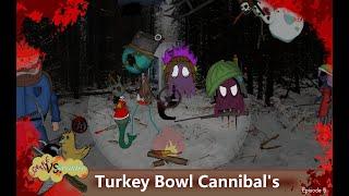 Grape Vs Snowman Turkey Bowl Cannibal s